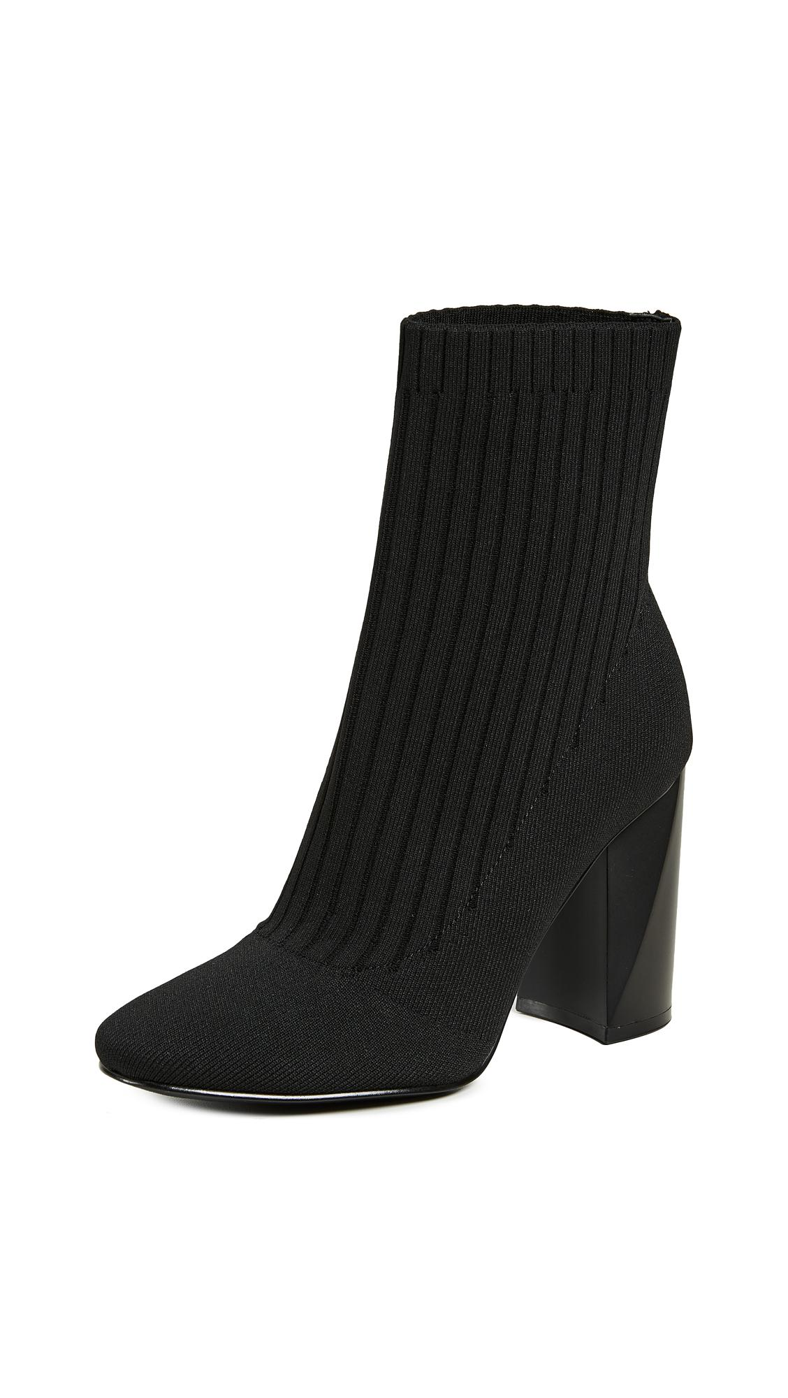 6290346e1 Kendall + Kylie Tina Black Fabric Sock Ankle Boots. Shopbop. 80Login to see  price