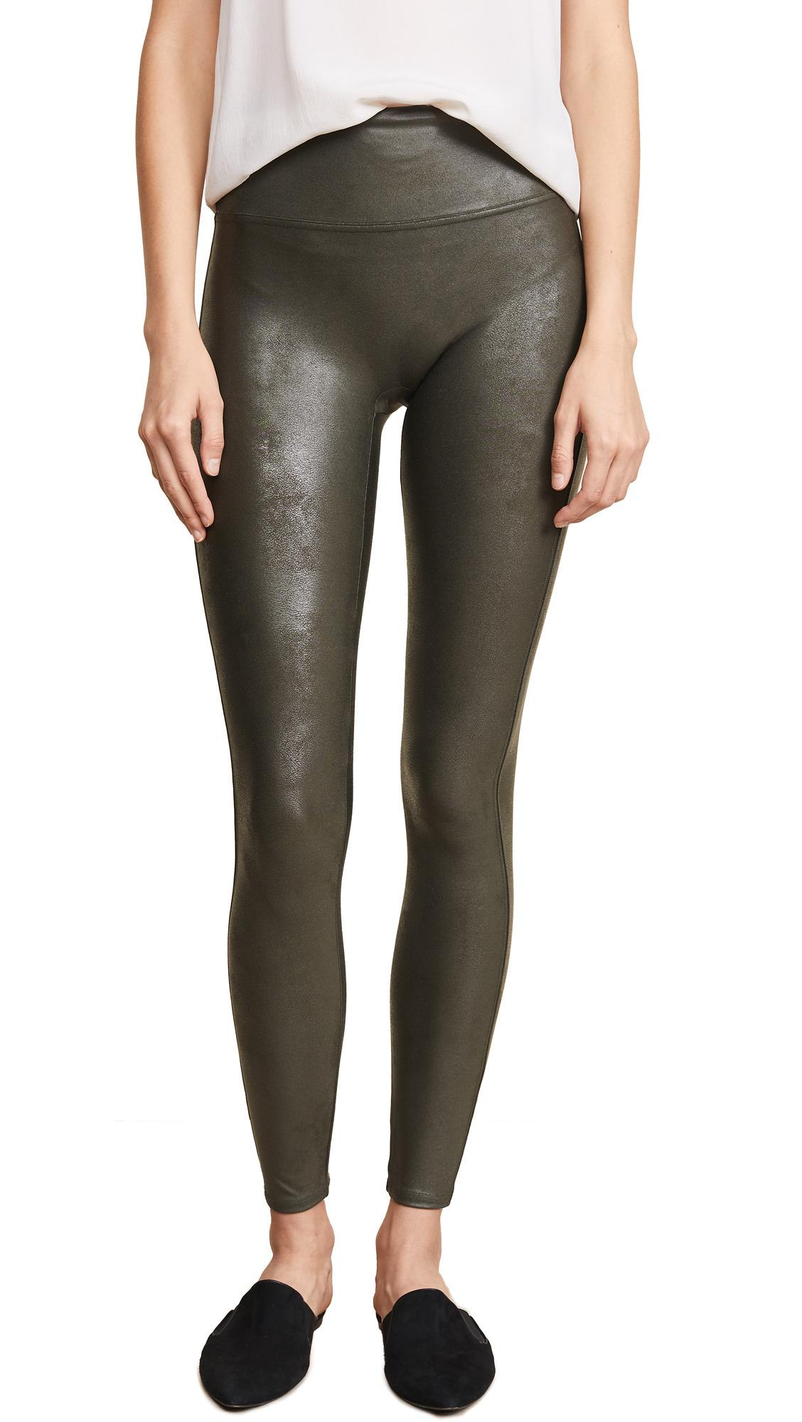 a8e08803be27d Spanx Faux Leather Leggings In Rich Olive | ModeSens