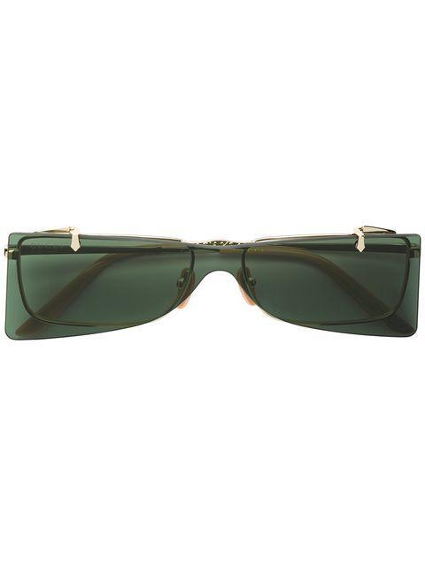 00675ff9ca3 Gucci Eyewear Square Shaped Sunglasses - Neutrals