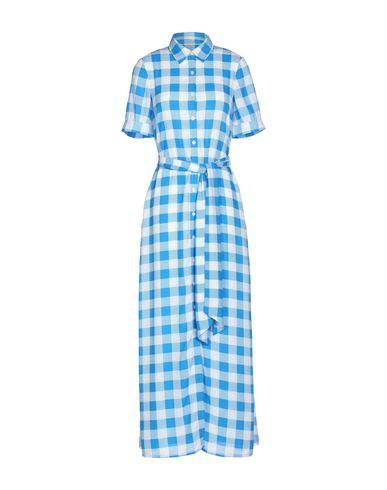 Draper James Long Dress In Blue