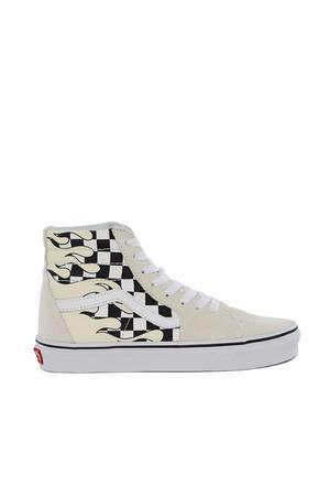 8c37dd93ad Vans Opening Ceremony Ua Sk8-Hi Checker Flame Sneaker In Classic White True  W