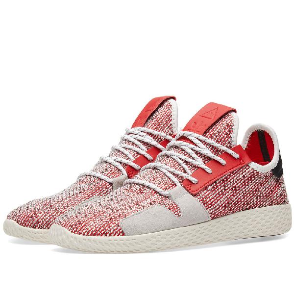 dad9b53e6 ADIDAS CONSORTIUM. Adidas Originals By Pharrell Williams Solarhu Tennis V2  in Red