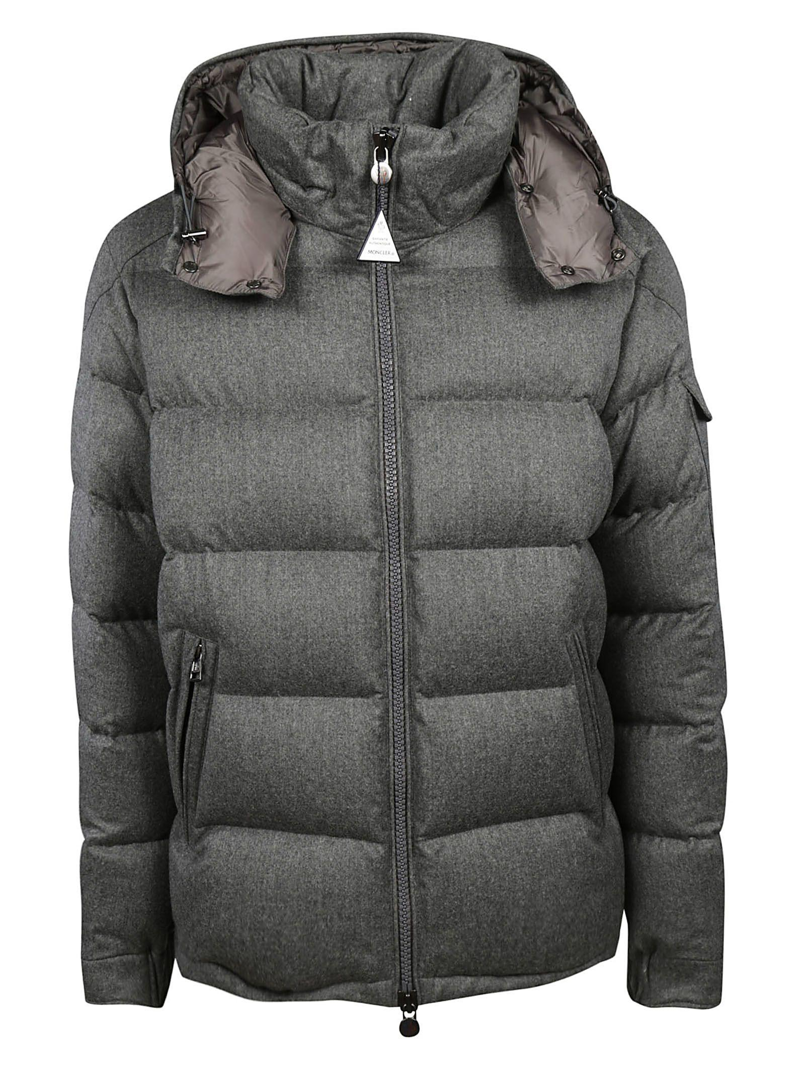 09317f854a9e Moncler Montgenevre Padded Jacket In Antracite