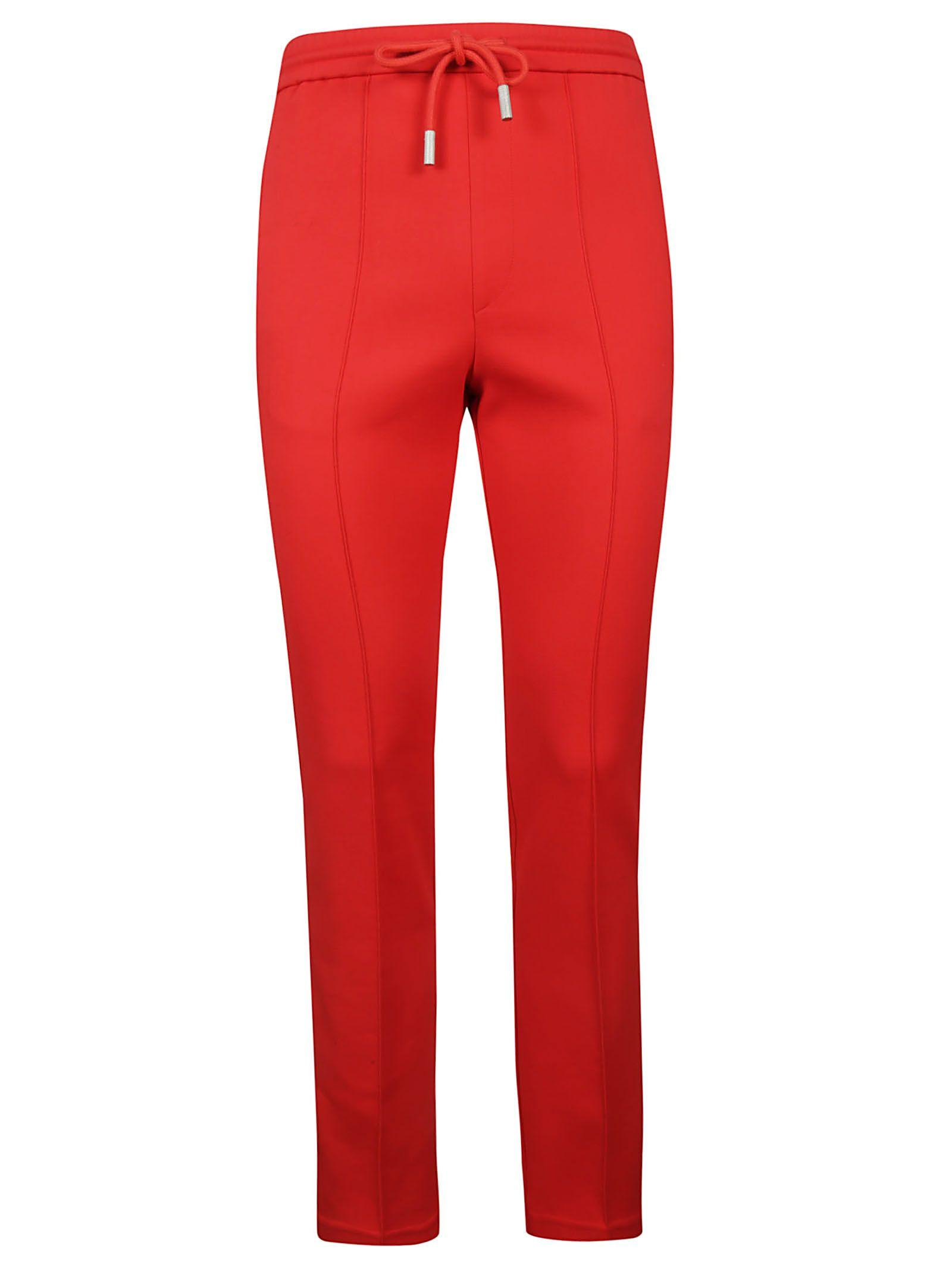 4eb9996e Off-White Side Stripe Track Pants In Red | ModeSens