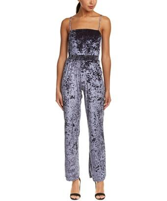 102f527634f6 Honey Punch Velvet Jumpsuit In Nocolor