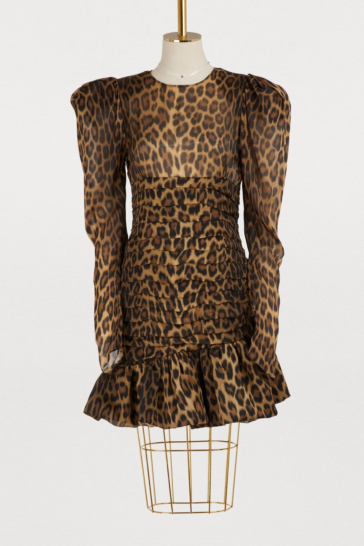 559c844caf11 Magda Butrym Borneo Short Dress In Brown | ModeSens