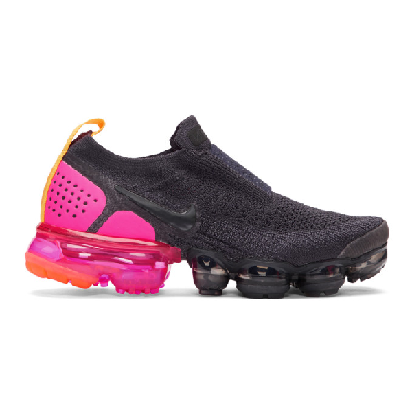 80a1f91f17 Nike Women's Air Vapormax Flyknit Moc 2 Running Shoes, Black In 001 ...