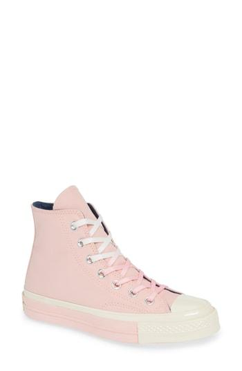 b03d688877c5 Converse Chuck Taylor All Star 70 Colorblock High Top Sneaker In Storm Pink