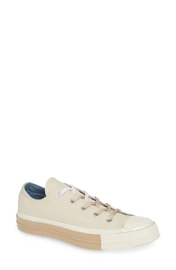 9fbd5be15844 Converse Chuck Taylor All Star 70 Colorblock Low Top Sneaker In Natural  Ivory