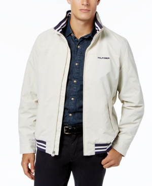 89404eb3 Tommy Hilfiger Men's Regatta Jacket, Created For Macy's In Silver Birch