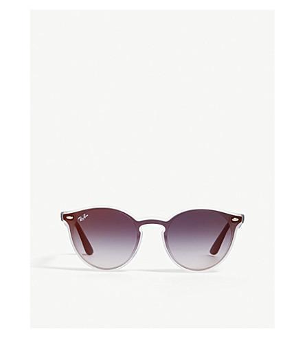 da6a104e97 Ray Ban Rb4380 Cat-Eye-Frame Sunglasses In Clear