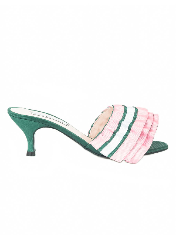 Leandra Medine The Webster X  Exclusive Ruffle Mule