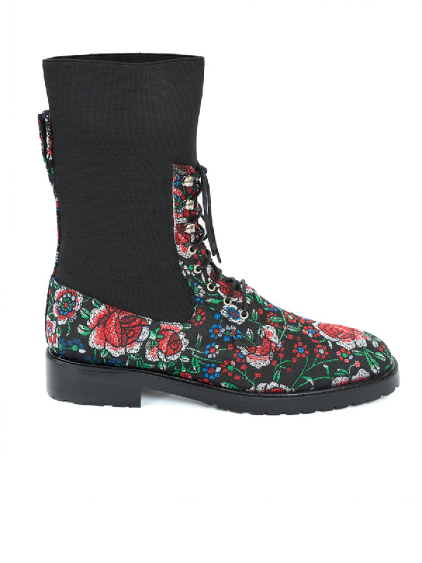 Leandra Medine Lace-Up Boot