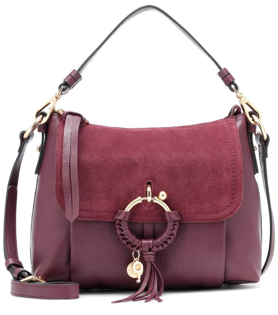872c3fc4e See By ChloÉ Joan Small Leather Shoulder Bag In Purple | ModeSens