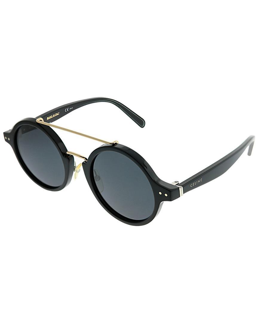 6f21f621e34e Celine Unisex Round 47Mm Sunglasses In Nocolor