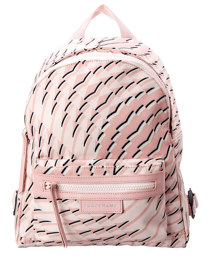 Longchamp Le Pliage Neo Pastel Small Nylon Backpack In Pink  b33a05b788760