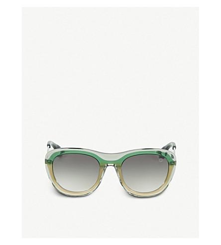 Blake Kuwahara Chareau Acetate Sunglasses In Green