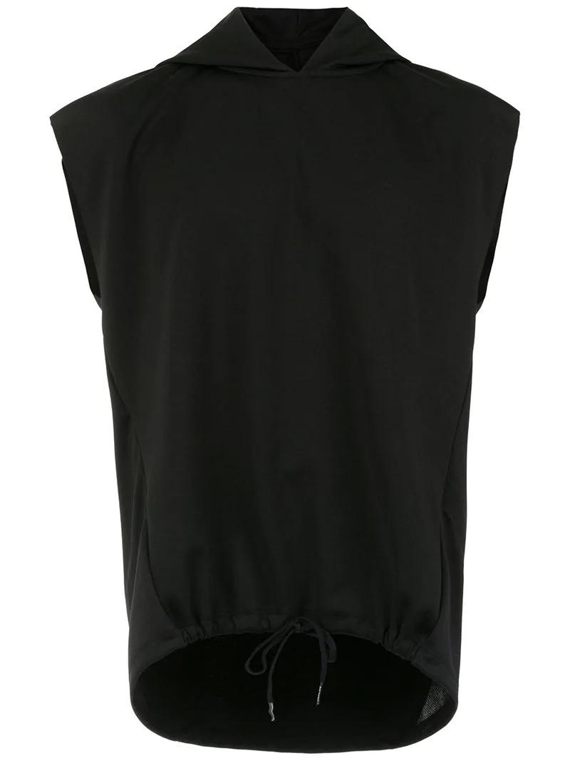 osklen t shirt mit kapuze schwarz in black modesens. Black Bedroom Furniture Sets. Home Design Ideas