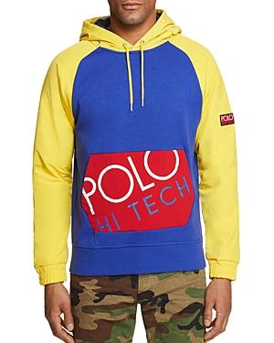 Polo Hi Tech Hybrid Color-Block Sweatshirt - 100% Exclusive in Royal Blue