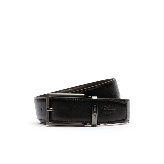 2c795aea Men's Reversible Leather Belt And Two Buckles Gift Set in Black/Brown