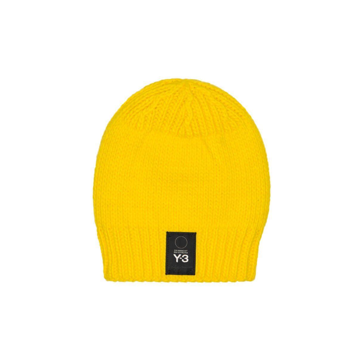 ba310871710 Y-3 Knit Beanie In Yellow