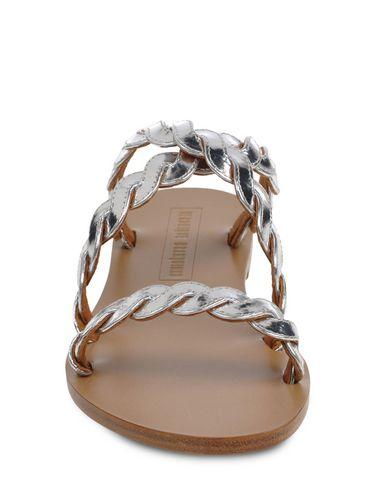 Veronique Branquinho Sandals In Silver