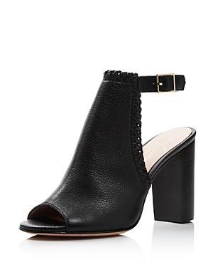 5865afa3a8d8 Kate Spade New York Women s Orelene Leather High-Heel Booties In Black