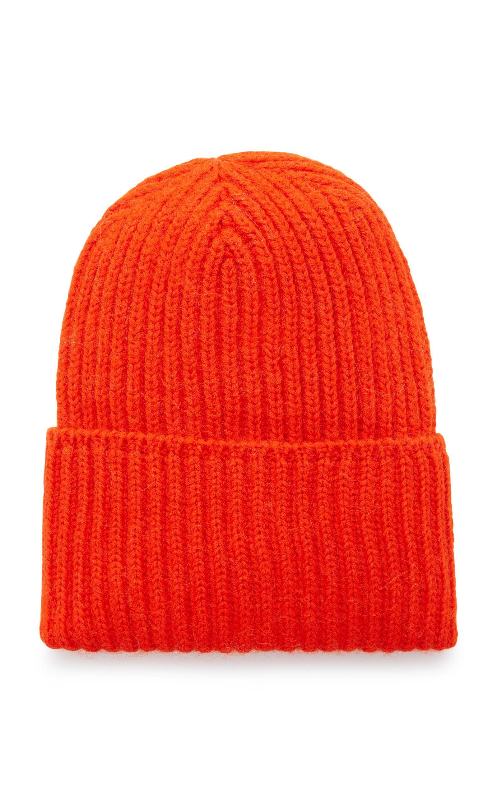 d48e29b14f5 Missoni Maglia Luna Wool Rib-Knit Beanie In Orange