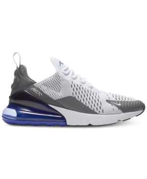 db69203420 Nike Men's Air Max 270 Casual Sneakers From Finish Line In  White/White-Persian