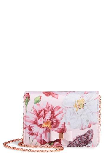 80caeb32f Ted Baker Zita Mini Bow Grosgrain Evening Bag - Pink In Light Pink ...