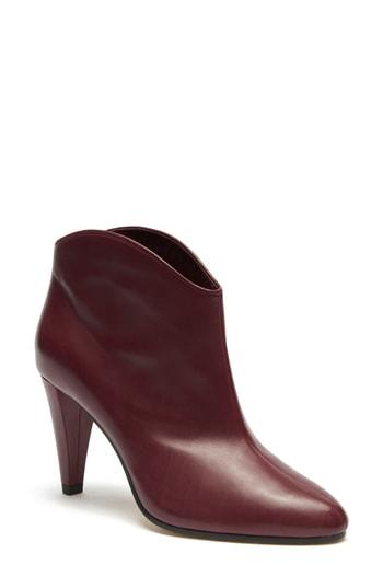 222b8bdc1779 A curved topline and cone heel add modern flourishes to this essential  pointy-toe bootie. Style Name  Etienne Aigner Seville Bootie (Women).
