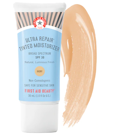 First Aid Beauty Ultra Repair® Tinted Moisturizer Broad Spectrum Spf 30 Ivory