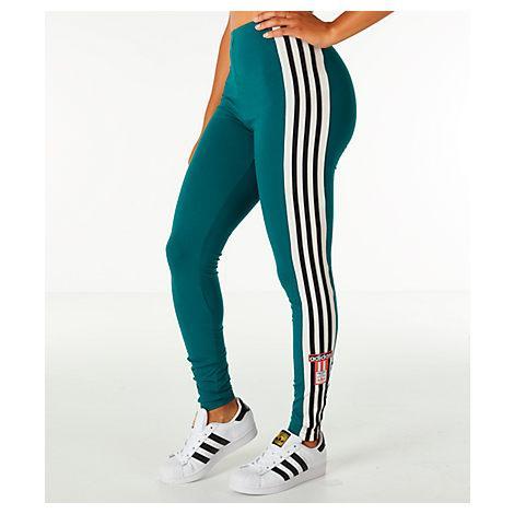 d861ce2872232 Adidas Originals Women's Originals Adibreak Leggings, Green | ModeSens