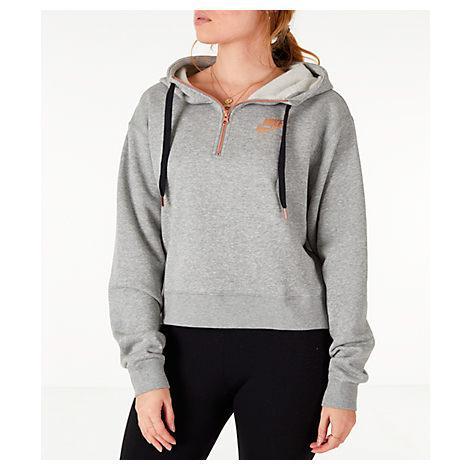 f2fd07625199 Nike Women s Sportswear Air Crop Half-Zip Hoodie
