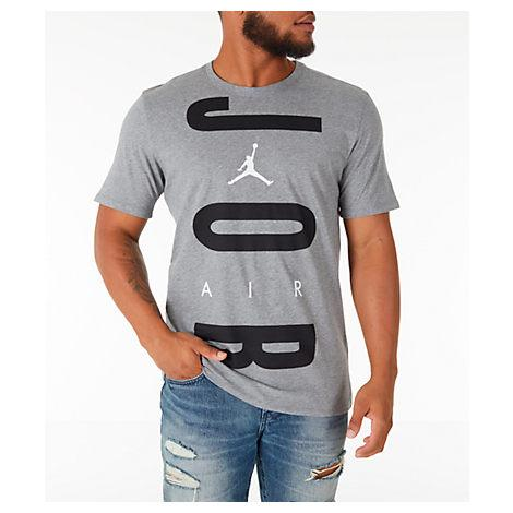 d480fdbfe5ac3 Men's Jordan Air Wordmark T-Shirt, Grey