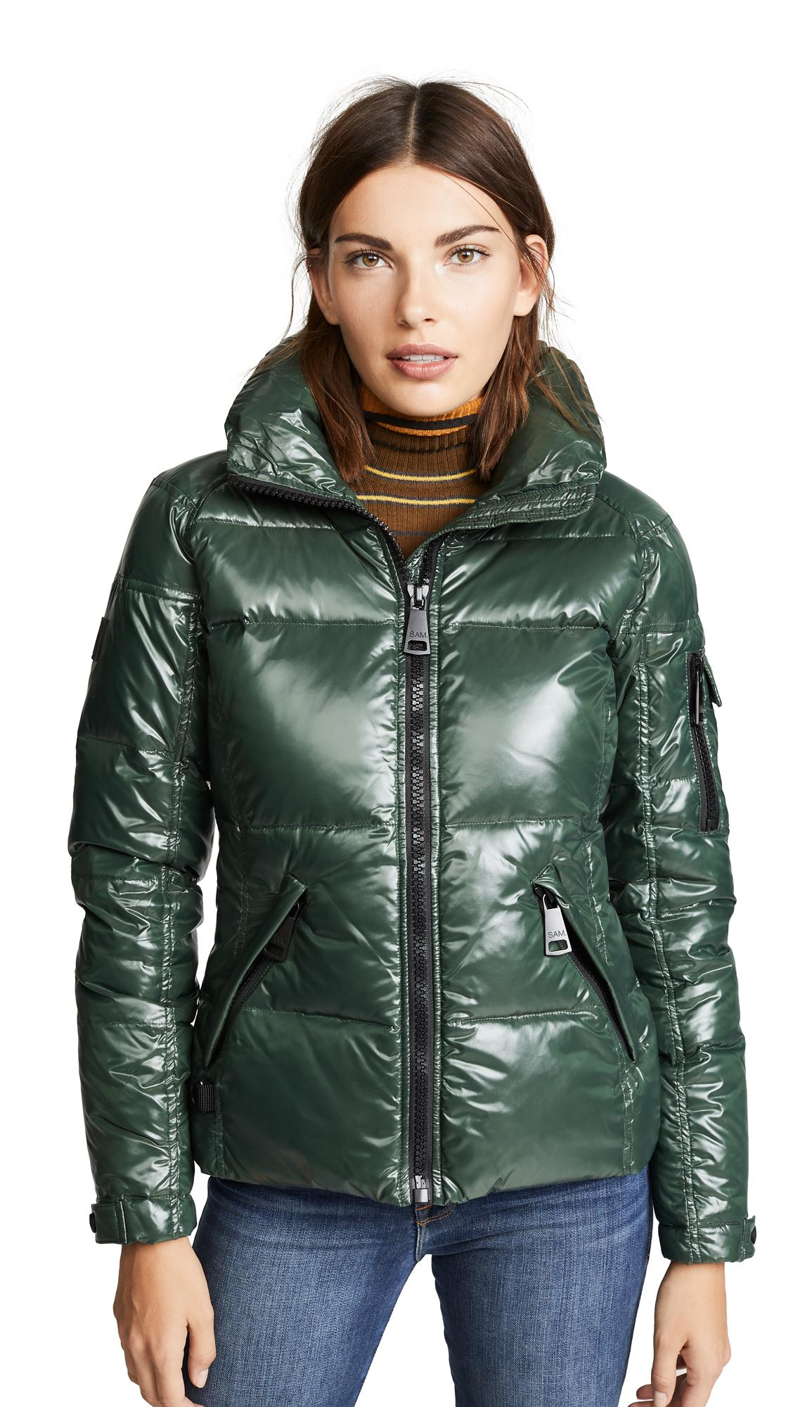 ed8ee61c476 Sam. Freestyle Short Down Jacket In Forest | ModeSens