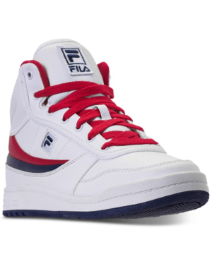 89b62e60cb Fila Men's Bbn 84 Ns Casual Sneakers From Finish Line In Wht/Fnvy/Fred