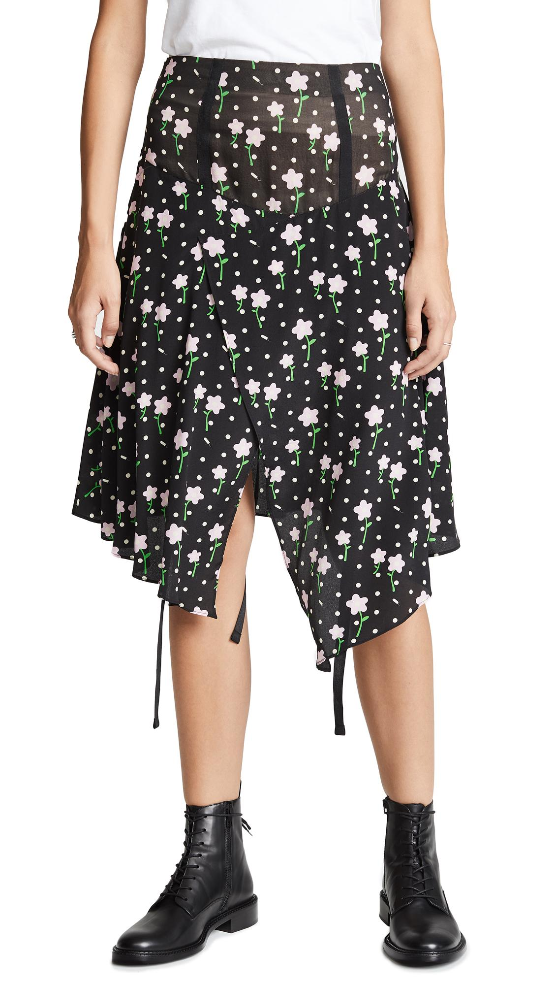 7d122dc689 Sandy Liang Norman Skirt In Tampon Flowers | ModeSens