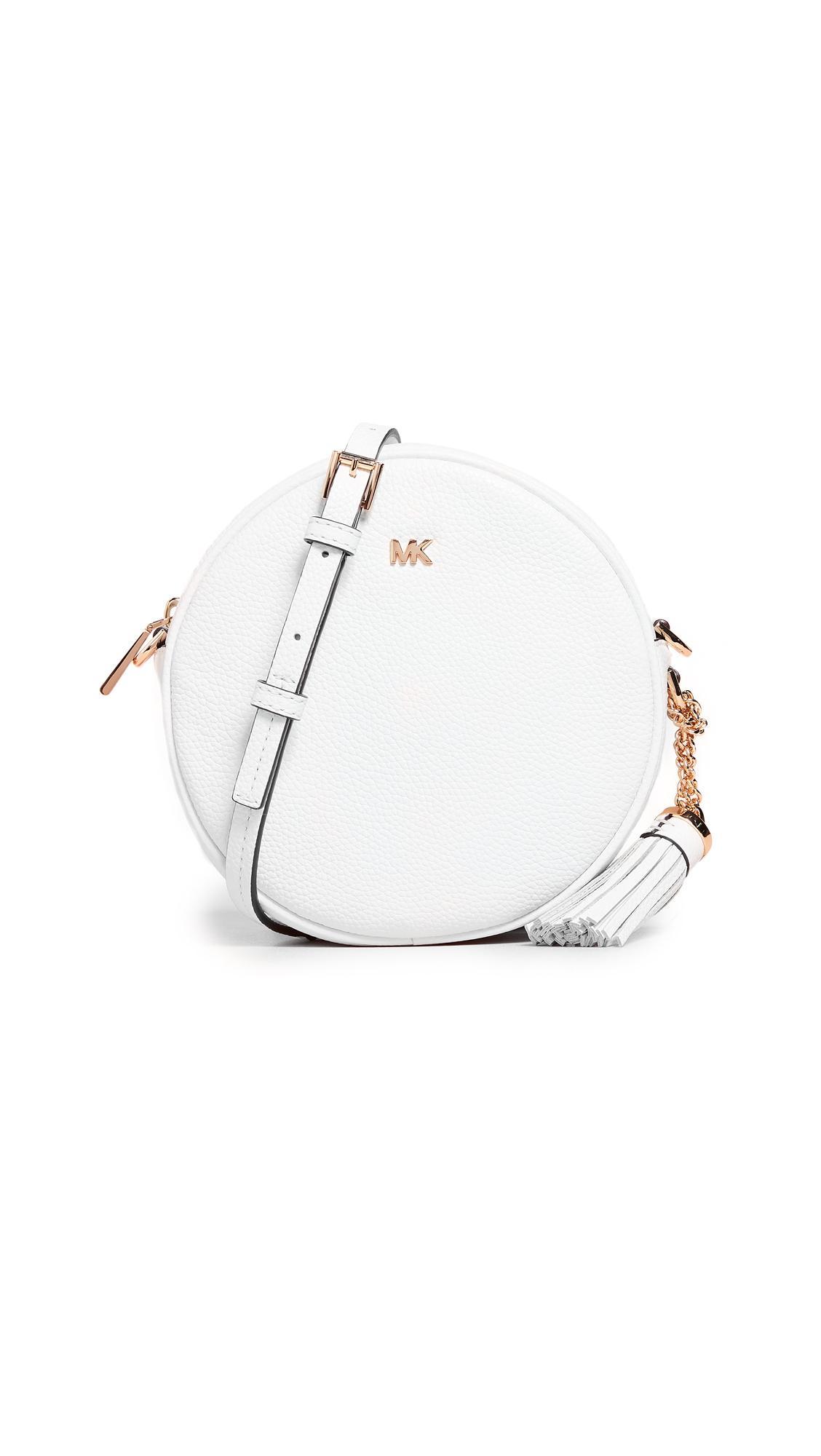 977a8589ff26 Michael Michael Kors Medium Canteen Crossbody Bag In Optic White ...