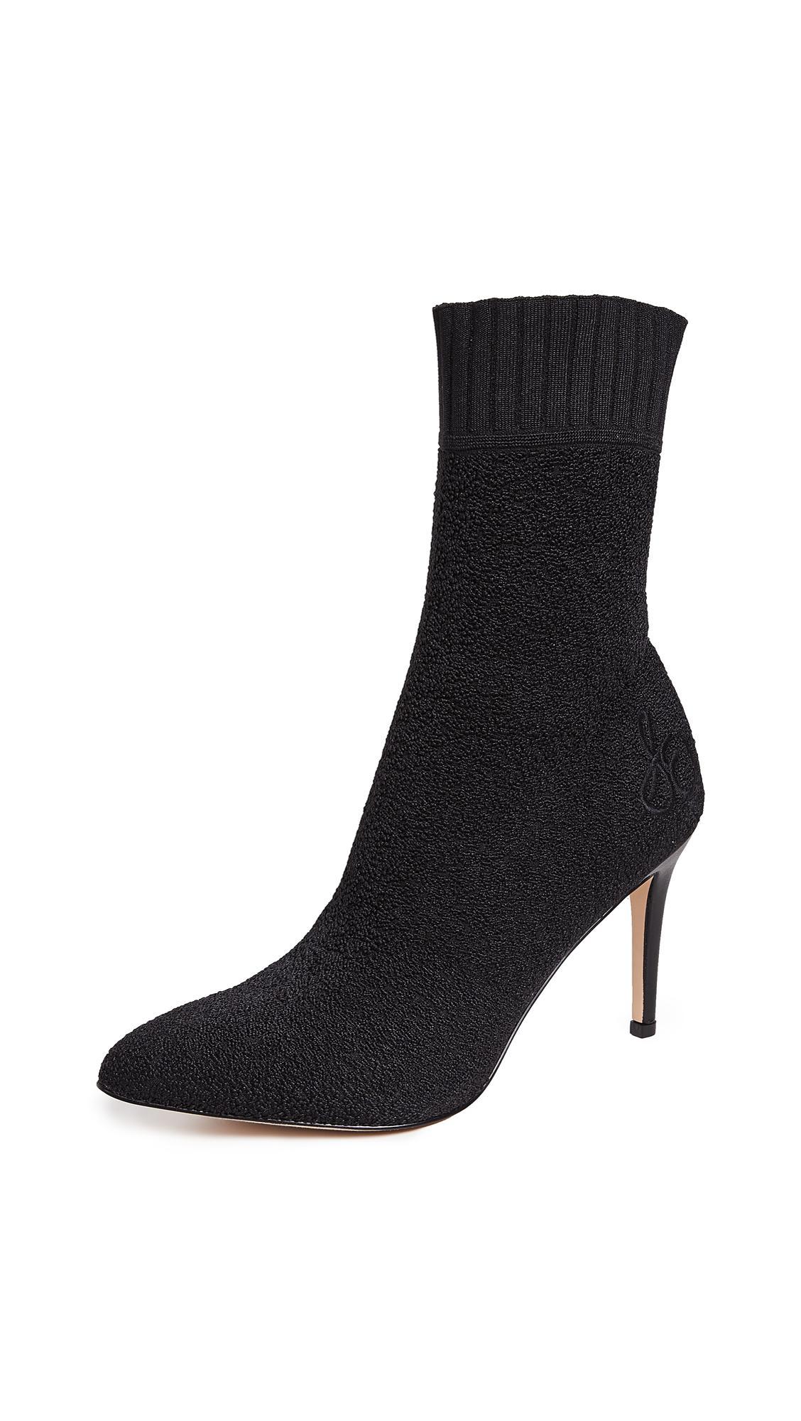 5d0951c7e Sam Edelman Oksana Sock Booties In Black