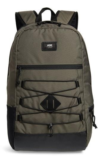 3eefa10cec9 Vans Snag Plus Backpack - Green In Grape Leaf   ModeSens