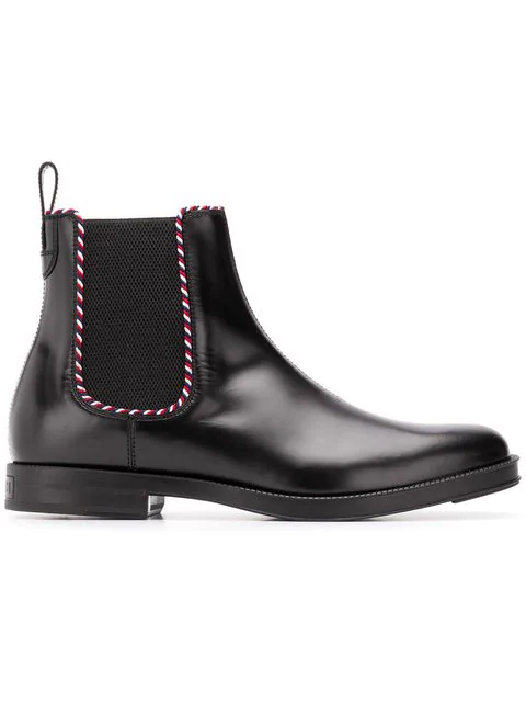 Gucci Beyond Black Leather Chelsea Boots
