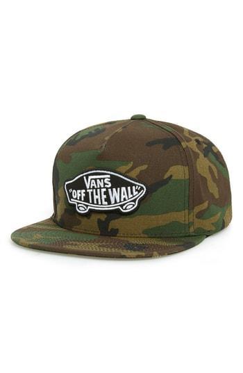 13168df0 Vans Classic Patch Baseball Cap - Green In Camo | ModeSens