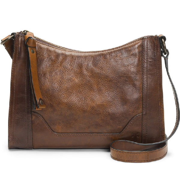 e634537c4d7 Partner Stores. Store Status Price. Frye Melissa Leather Crossbody Bag -  Beige In Dark Brown