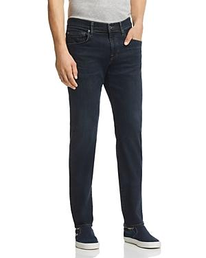 7 For All Mankind Straight Slim Fit Jeans In Contrast