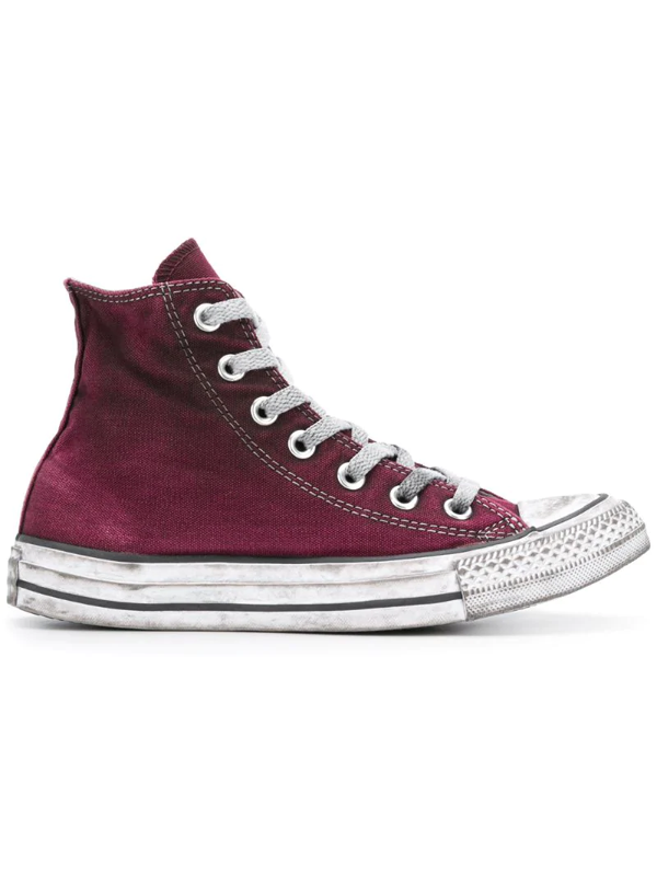 Converse Classic Chuck Taylor All Star Hi-top Sneakers In Pink