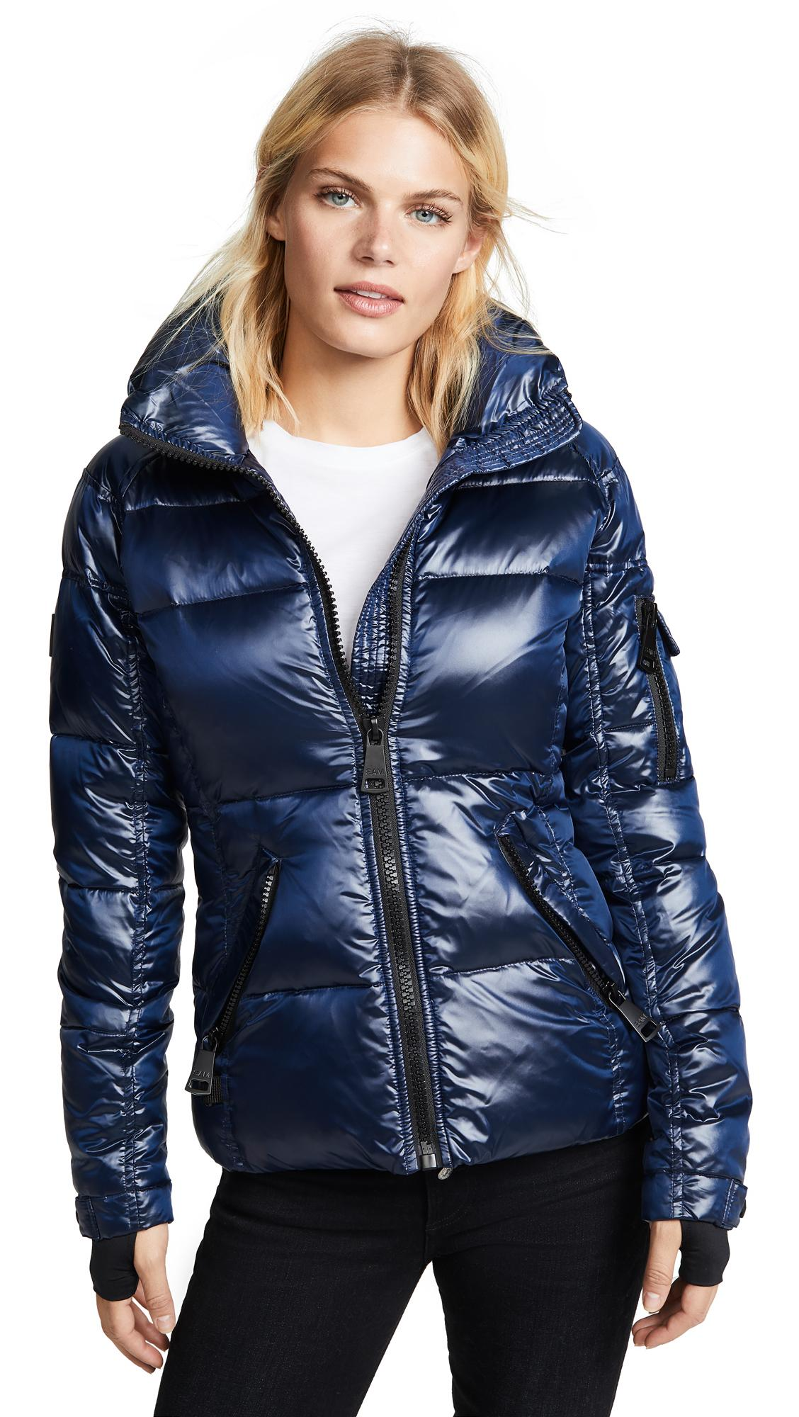 6ef7cc5e3f2 Sam. Freestyle Short Down Jacket In Midnight | ModeSens