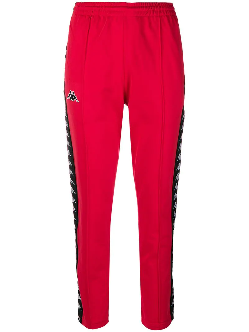 8538d50b6aa Kappa Astoria Snap Track Pants - Red | ModeSens