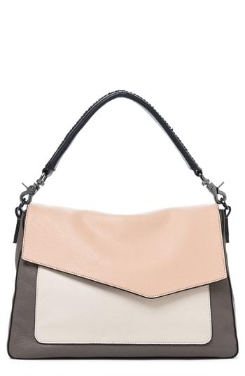 afdb56c0828d Botkier Cobble Hill Slouch Calfskin Leather Hobo In Nude Combo ...