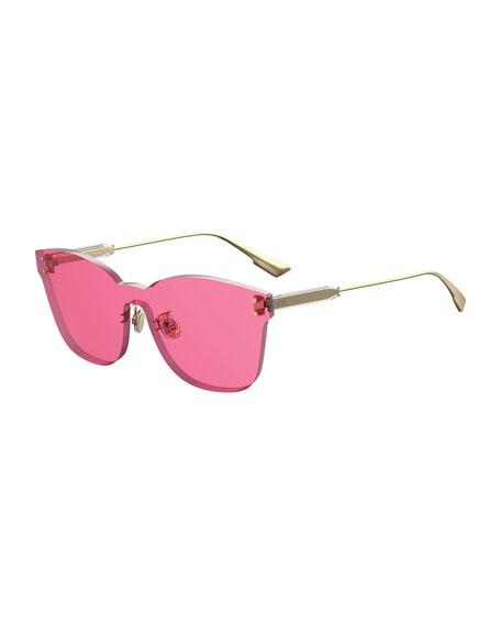 6b74b04e5f2c Dior Colorquake2 Rectangle Shield Sunglasses In Fuchsia